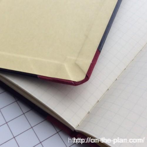 LiFEのクロス手帳、品番M301は角丸でこれが気に入っている
