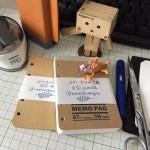ミニ5穴のシステム手帳リフィルを自作
