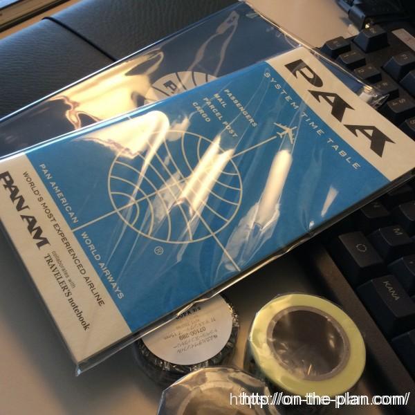 東京成田のトラベラーズファクトリー エアポート 。 ブルーエディション用のジッパーやノート、成田限定のマスキングテープを買いました。