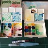 水彩絵具で手帳やノートにイラストを持ち込む使い方