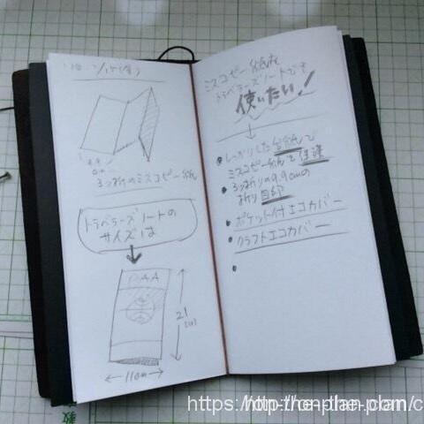 ミスコピー用紙なので、「ガンガン」書けますよ(^^)。 アイデアスケッチなどに向いている気もします。