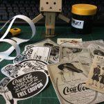 【無料】トラベラーズノートのカスタマイズ用紙シール、ノスタルジックな60年代の作り方